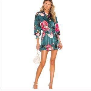 Misa Los Angeles x Revolve Iyana Floral Dress New